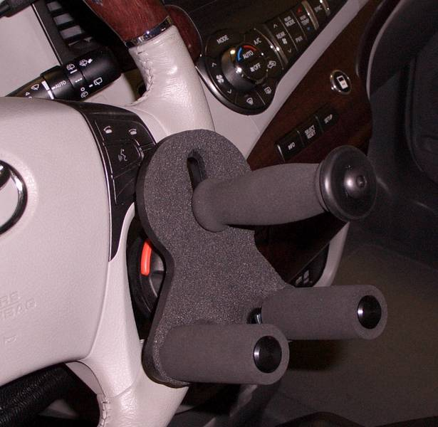 Tri Pin Grip Steering